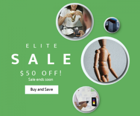 Square large web banner template for sales - #banner #businnes #sales #CallToAction #salesbanner #a #brainstorming #pose #modern #technology #hand #cologne #idea #card