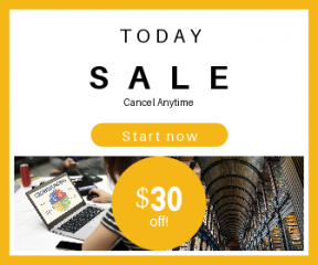 Square large web banner template for sales - #banner #businnes #sales #CallToAction #salesbanner #time #ceiling #shape #funding #geometric #shapes #celing #brainstorming #shelf #arch