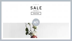 FullHD image template for sales - #banner #businnes #sales #CallToAction #salesbanner #minimal #copper #art #flower #oriental