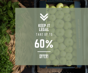 Square large web banner template for sales - #banner #businnes #sales #CallToAction #salesbanner #arrows #market #eating #box #arrow #best #double #two #angle
