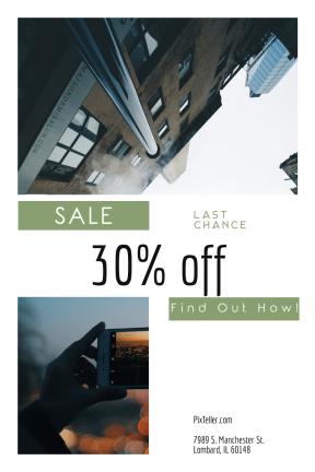 Portrait design template for sales - #banner #businnes #sales #CallToAction #salesbanner #los #camera #usa #landscape #multimedia #stop