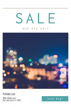 Portrait design template for sales - #banner #businnes #sales #CallToAction #salesbanner #dark #metropolitan #of #night #out #conference #city #oof #light