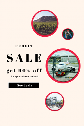 Portrait design template for sales - #banner #businnes #sales #CallToAction #salesbanner #contax #square #male #plant #photography #airliner #lifestyle