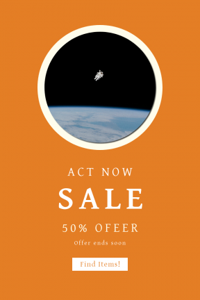 Portrait design template for sales - #banner #businnes #sales #CallToAction #salesbanner #suit #surface #outerspace #galaxy #phenomenon #wallpapers #distant #company #floating #background