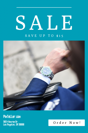 Portrait design template for sales - #banner #businnes #sales #CallToAction #salesbanner #shape #overhead #square #geometric #navy