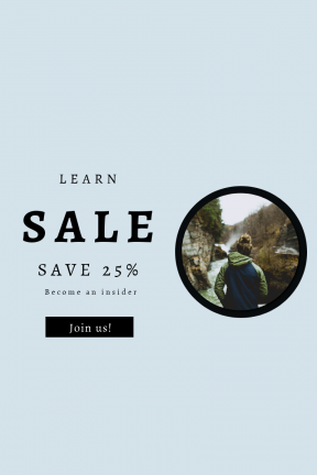 Portrait design template for sales - #banner #businnes #sales #CallToAction #salesbanner #explore #hood #more #tree #river #woman #rock #hoodie
