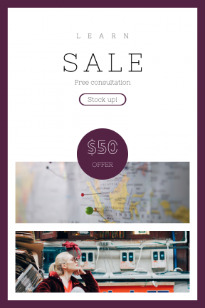 Portrait design template for sales - #banner #businnes #sales #CallToAction #salesbanner #geometrical #malaysia #depth #shape #street #card #circular #map