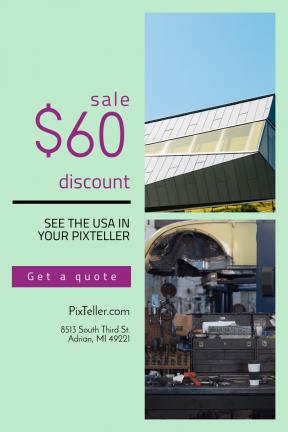Portrait design template for sales - #banner #businnes #sales #CallToAction #salesbanner #future #architecture #automotive #business #exterior #headquarters #work #real #Perimeter #factory