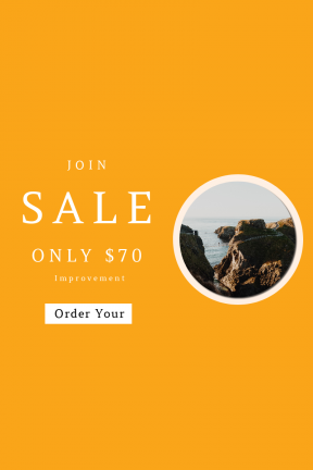 Portrait design template for sales - #banner #businnes #sales #CallToAction #salesbanner #bedroom #people #rocky #road #path #background #coast #mountain