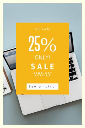 Portrait design template for sales - #banner #businnes #sales #CallToAction #salesbanner #administration #computer #bus #woman #macbook #healthcare #diagnosis #smartphone #equipment
