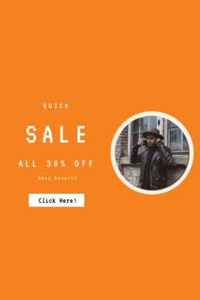 Portrait design template for sales - #banner #businnes #sales #CallToAction #salesbanner #building #utrecht #jacket #hat #man #grunch