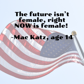 Right Now is Female