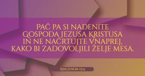 Rimljanom 13-14