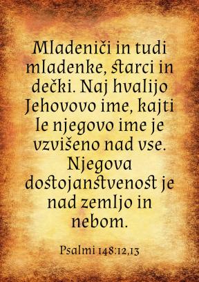 Psalmi 148-12-13
