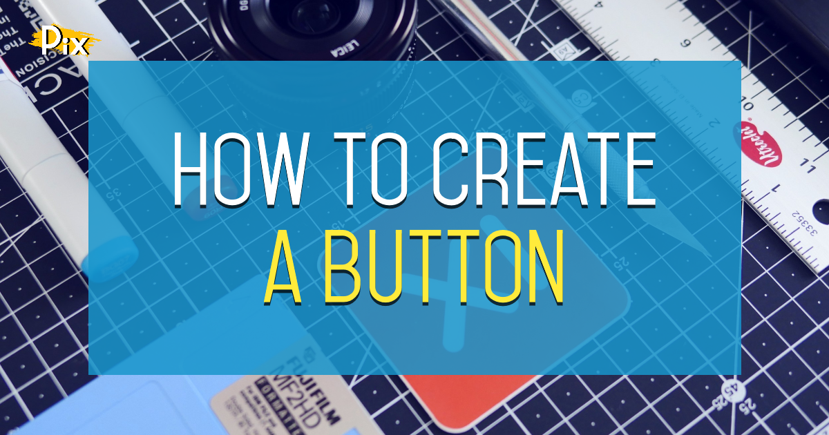 How to create a Button element by grouping shapes