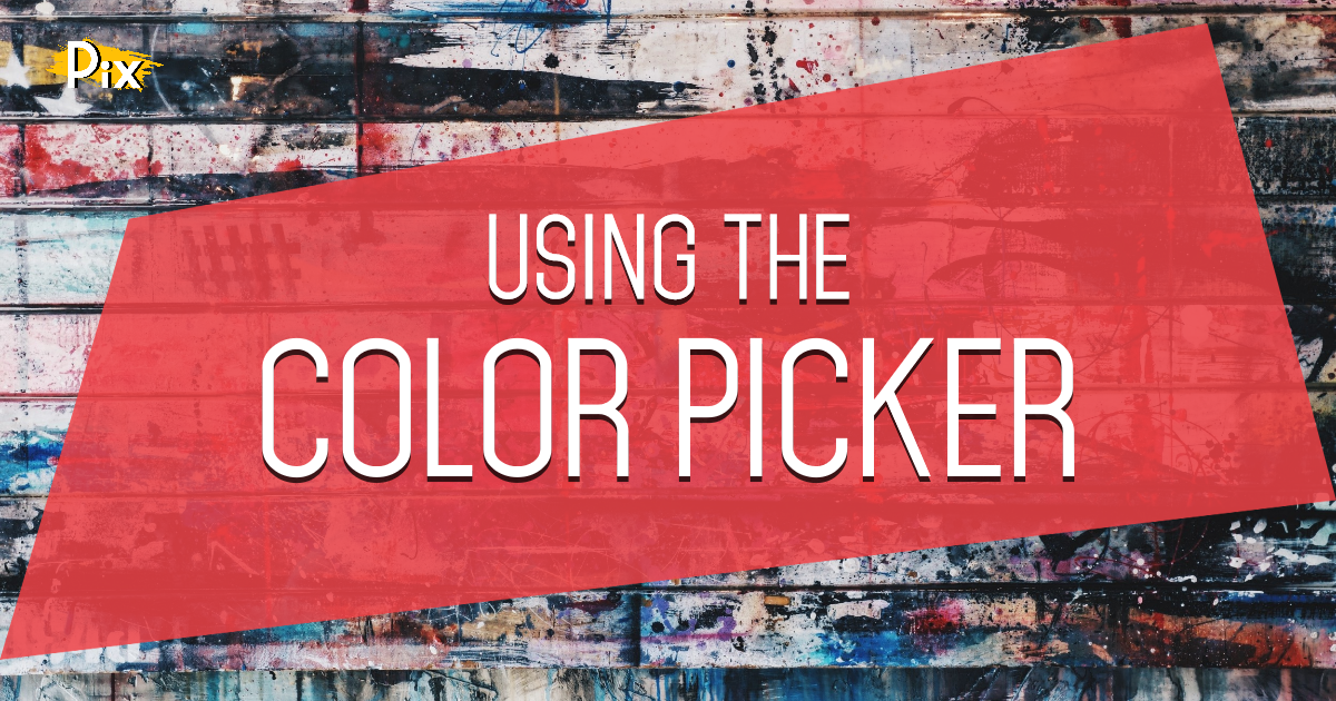 How to Use the Color Picker component to switch between Solid, Linear and Radial Gradient colors