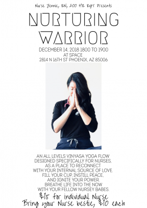 Nurturing Warrior - Flow 1