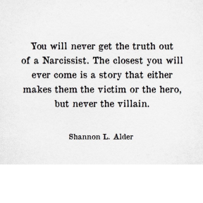 Narc is victim or hero