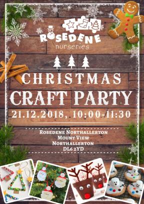 Christmas Craft Party - Northallerton