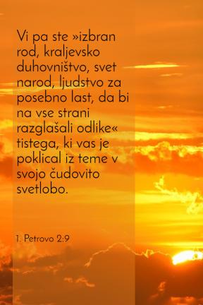 1 Petrovo 2-9