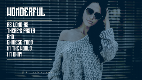 Full HD Presentation Layout -  #Wording #Saying #Quote #CallToAction #knitwear #hair #jumper #bokeh #garage