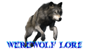 Werewolf lore