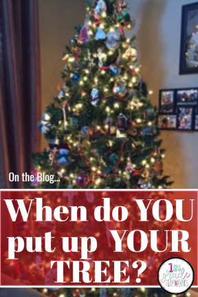 When do you put up your tree? blog