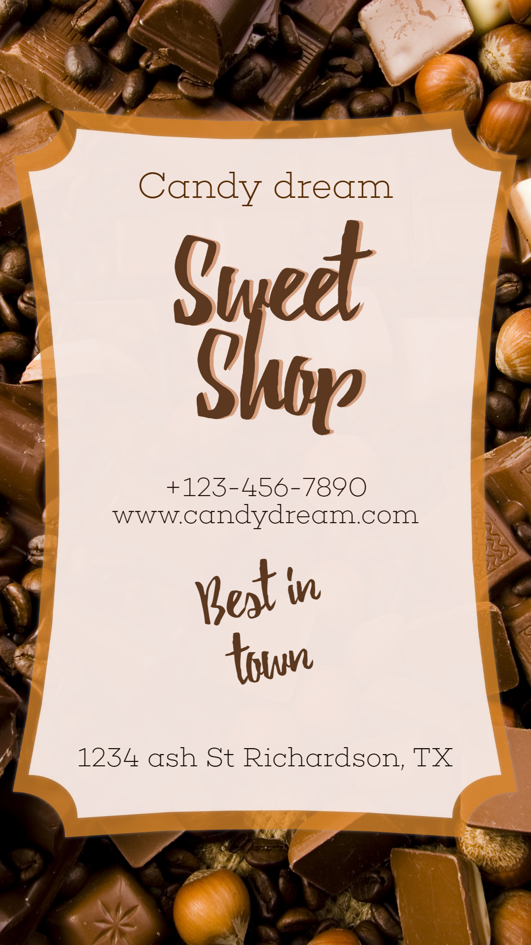 Candy Shop #candy #sweet #shop Animation  Template