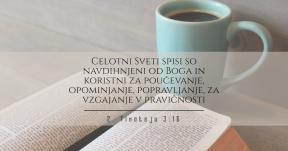 2 Timoteju 3-16