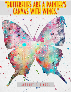 Canvas with wings