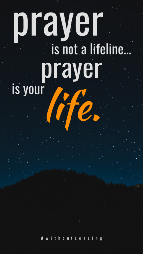 prayer is life #quote