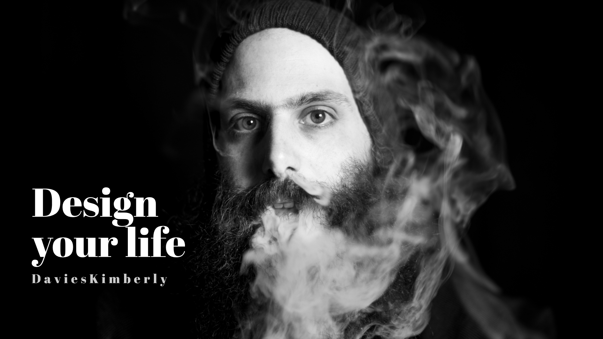 Quote, Saying, Wording, White, Monochrome, Portrait, Beard, Black, And, Photography,  Free Image