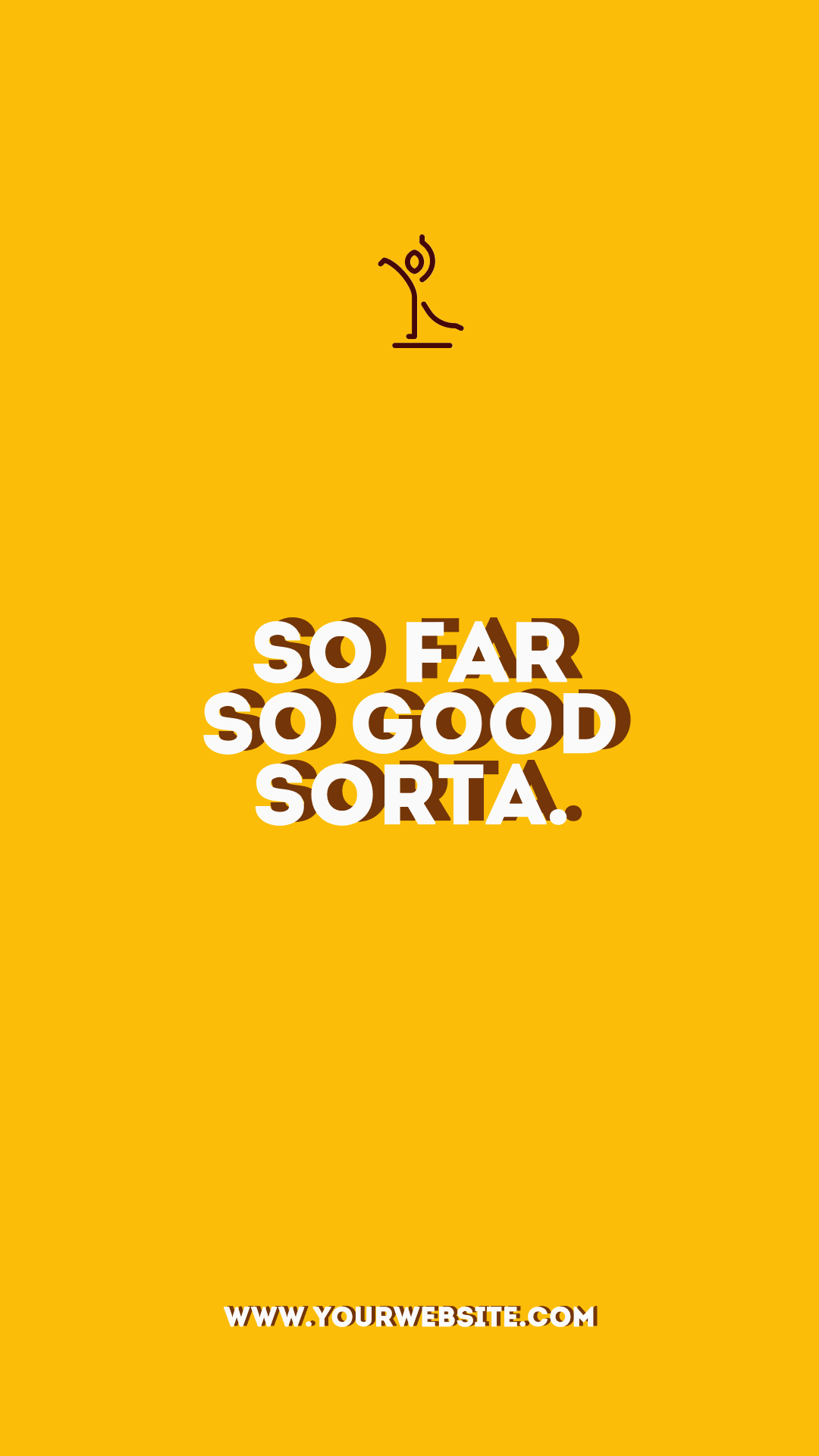 Poster, Simple, Quote, Yellow,  Free Image