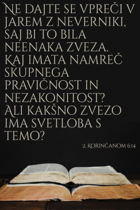 2 Korincanom 6-14
