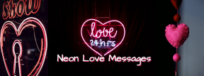 Neon Love Messages