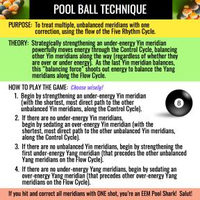 POLL BALL TECHNIQUE