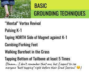 BASIC GROUND TECHNIQUES