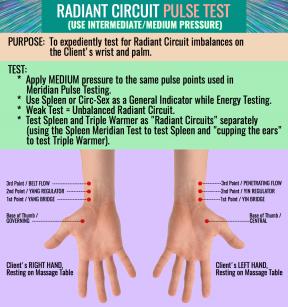 RADIANT CIRCUIT PULSE TEST 2