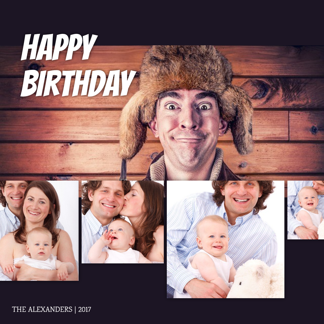 #anniversary #funny #poster #collage Design  Template