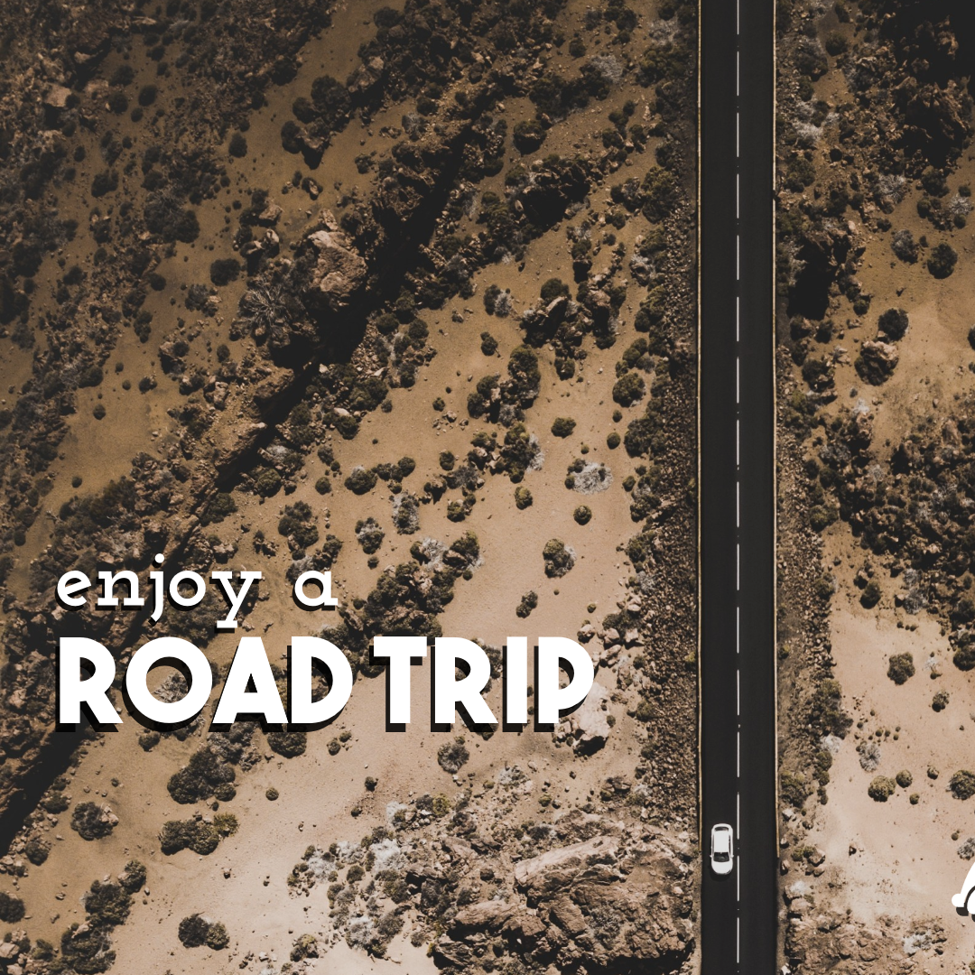 Enjoy a Road Trip #quote #poster Animation  Template