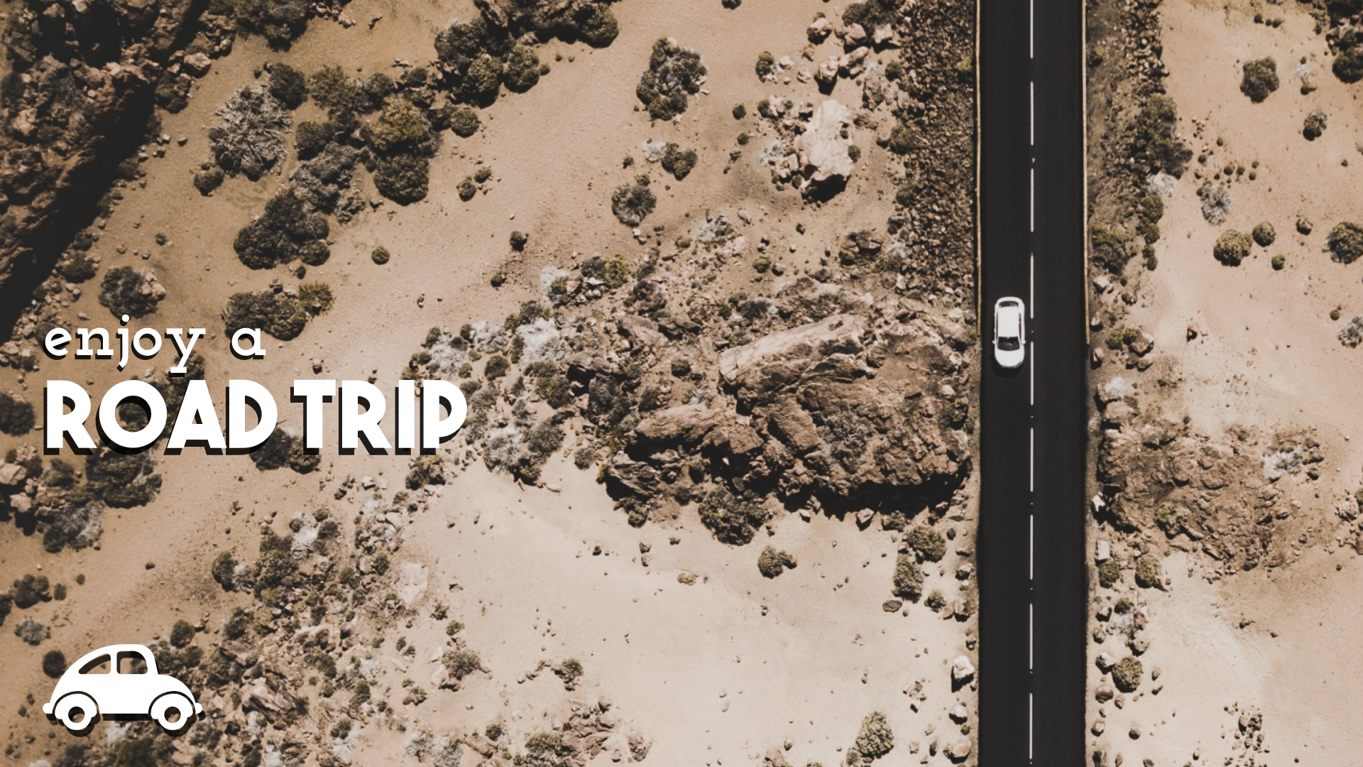 Enjoy a Road Trip #quote #poster Design  Template