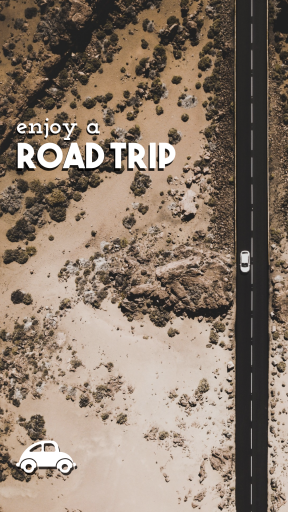 Enjoy a Road Trip #quote #poster