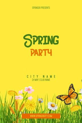 Spring Party #invitation #event