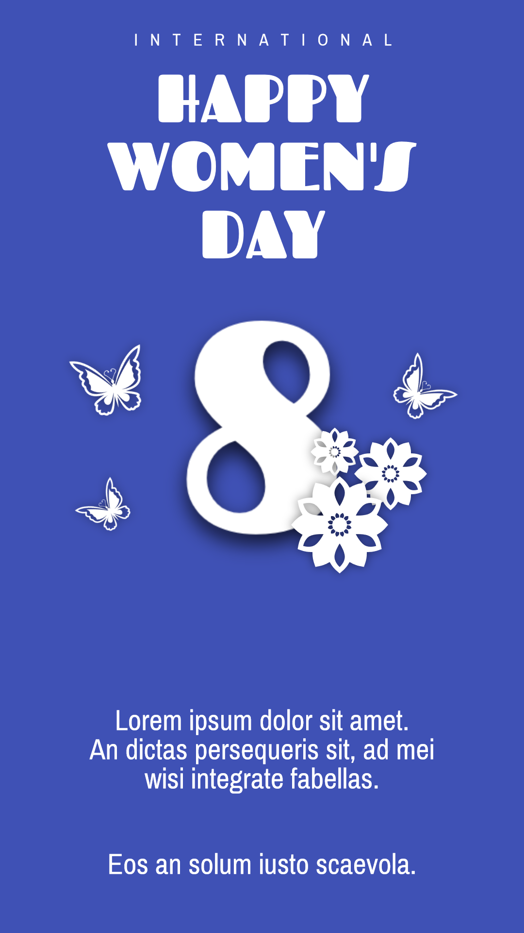 8 martch - #Quote #Wording #Saying Design  Template