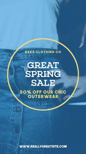 Spring Sale Post - #Sales #Business