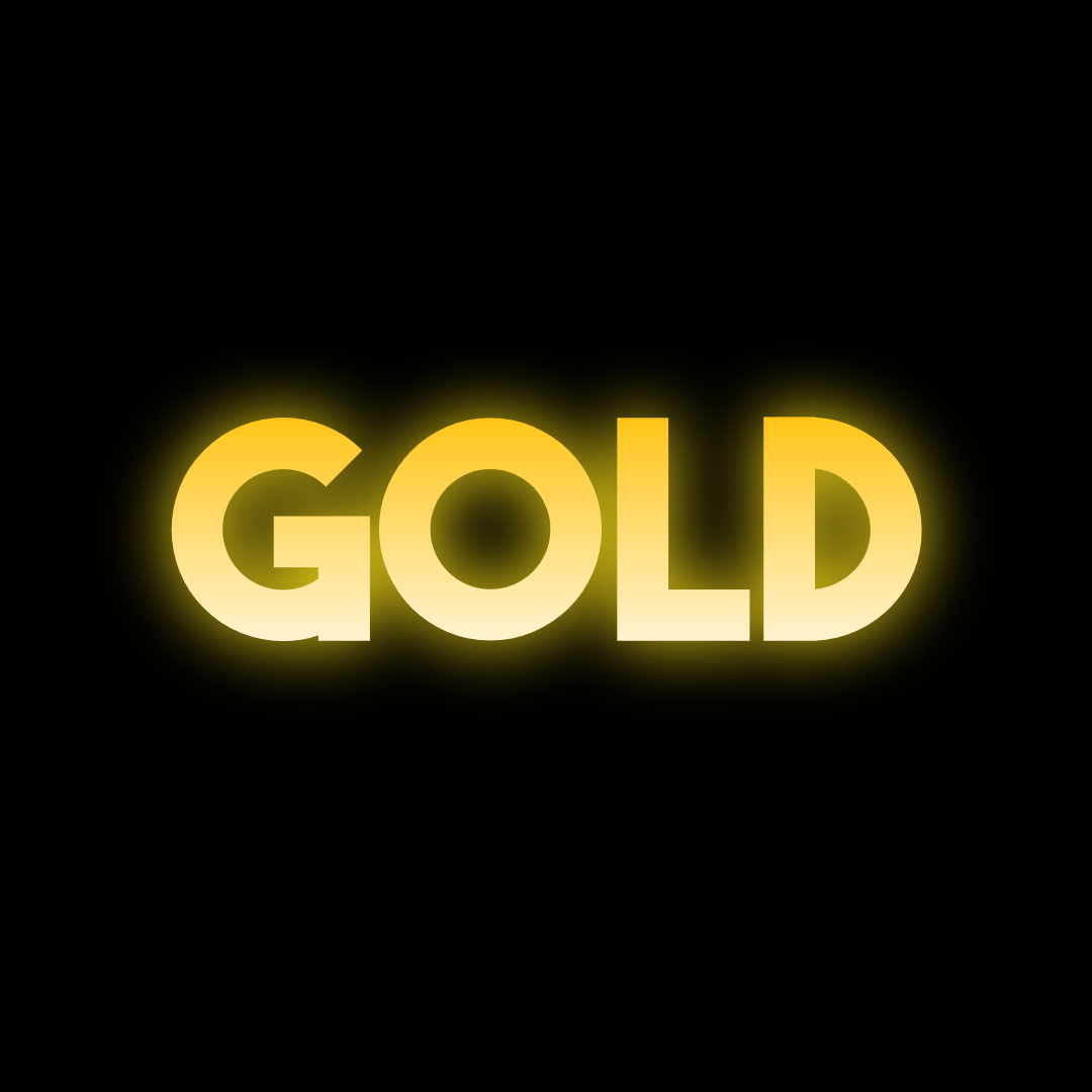 Gold Text Animated :P Animation  Template