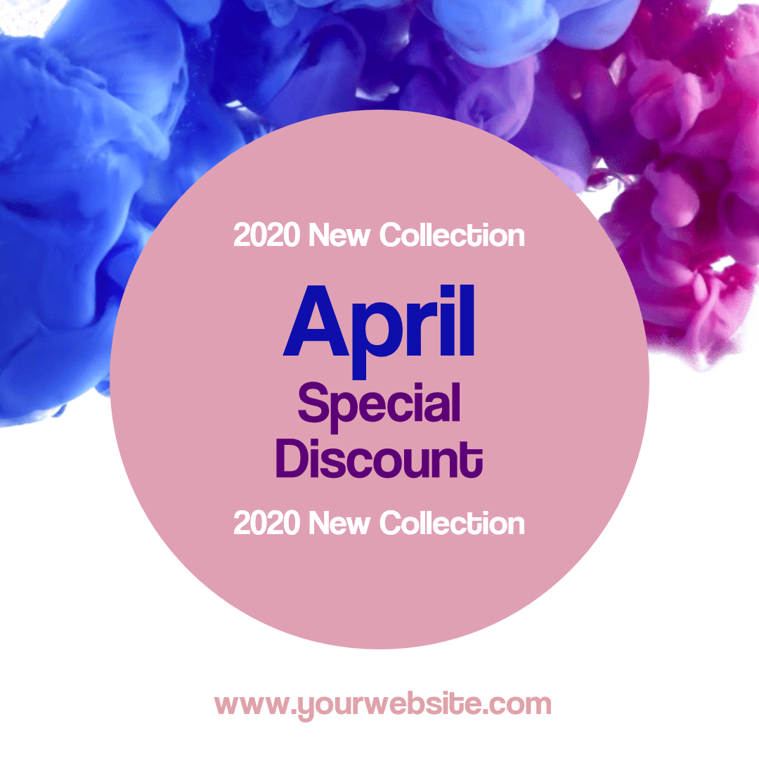 Special Discount Template - Animation  Template