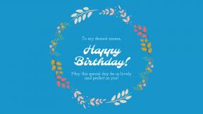 Happy Birthday Anniversary Template - #anniversary