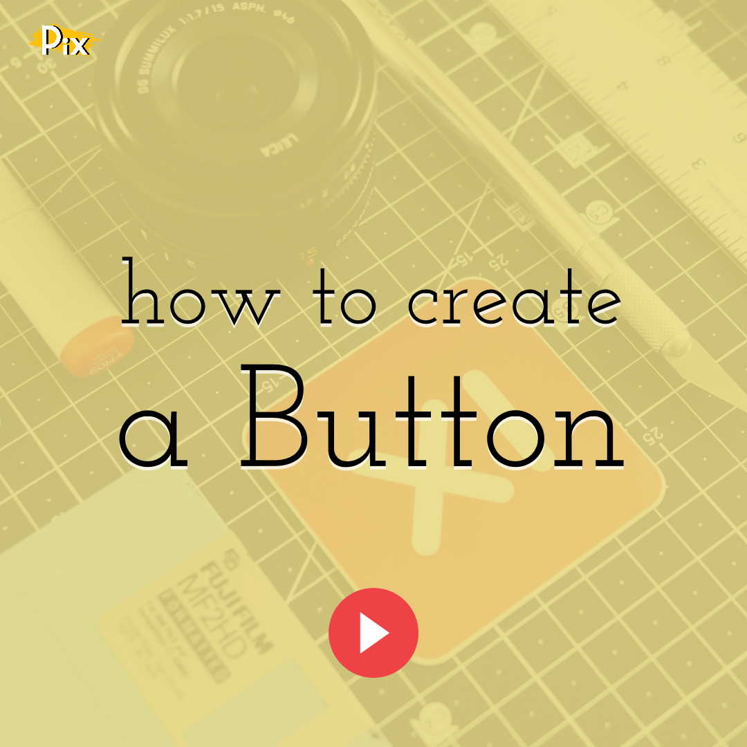 How to Create a Button Element by Grouping Shapes in PixTeller Editor