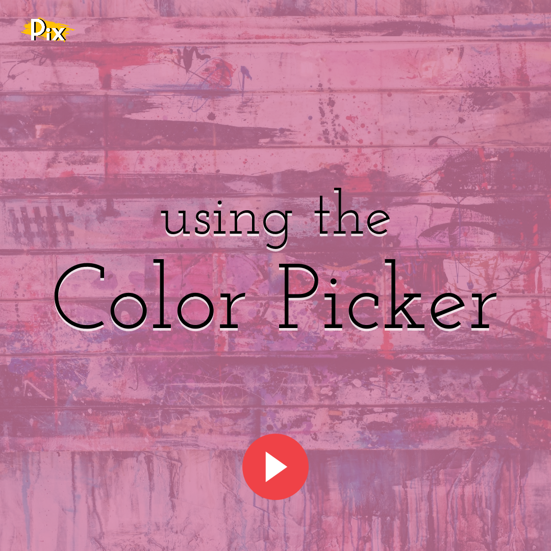 How to Use the Color Picker and Switch Between Solid, Linear and Radial Gradient Colors